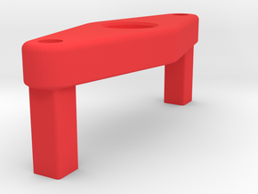 Paddle Magnet Holder For Momo Mod 27 Paddle Assemb in Red Strong & Flexible Polished