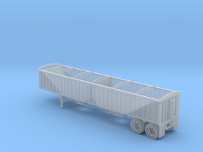 N-Scale CPS-Manac 40' Grain Trailer in Frosted Extreme Detail
