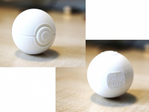 Pokeball - I Choose You in White Strong & Flexible