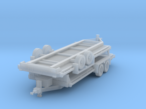 N 20' Car Trailer 2 Pack in Frosted Extreme Detail