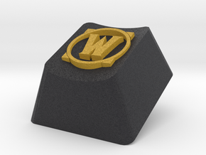 World of Warcraft logo keyboard keycap in Full Color Sandstone