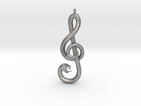 Song Snake in Raw Silver