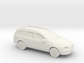 1/87 2015 Volvo XC 70 in White Strong & Flexible