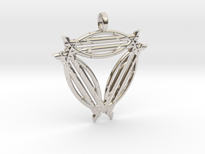 MYSTICAL STARSEED in Rhodium Plated