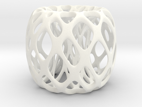 Frohr design - home decor in White Strong & Flexible Polished