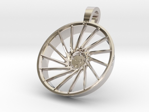 Vossen KeyChain VPS304 in Rhodium Plated