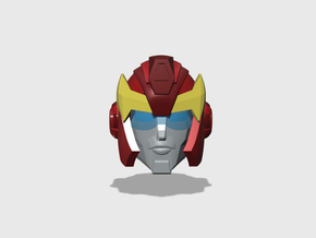 Hot-headed Recruit Head G1-style for Animated in Frosted Ultra Detail