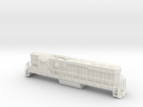 EMD SD24 Locomotive N Scale  -High Detail in White Strong & Flexible