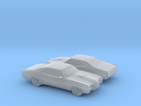 1/120 2X 1970 Mercury Cyclone in Frosted Ultra Detail