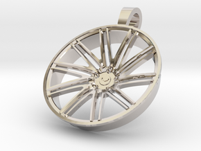 Vossen KeyChain VPS309 35mm in Rhodium Plated