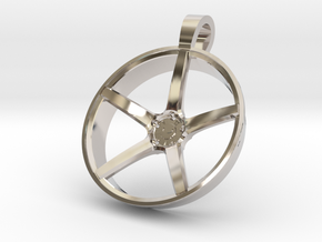 Vossen KeyChain VPS303 in Rhodium Plated