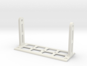 Raspberry Pi and Screen Mount Stand - Part 2/2 in White Strong & Flexible