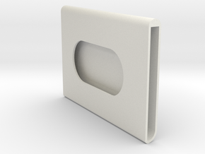 Card Wallet in White Strong & Flexible