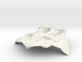 Federation Fighter in White Strong & Flexible