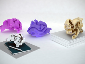Paperweight in White Strong & Flexible