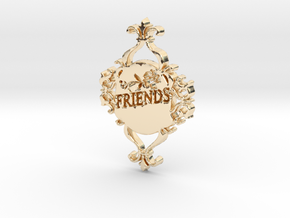 Special Friends Pendant  in 14K Gold