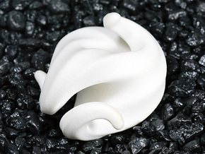 G3 Sculpture in White Strong & Flexible Polished