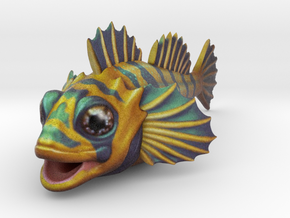 Flipping Fish! -nothing but the fish! in Full Color Sandstone