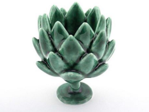 Artichoke Cup  in Gloss Oribe Green Porcelain