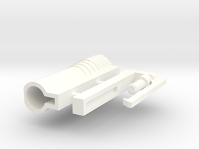 Transformers G2 european launcher. in White Strong & Flexible Polished