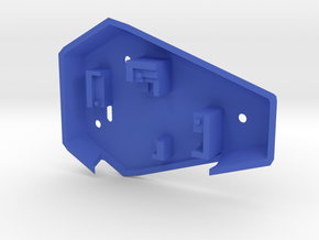 Ruby Enclosure Back - Part 2/2 in Blue Strong & Flexible Polished