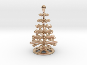Christmas Tree Place Card in 14k Rose Gold Plated