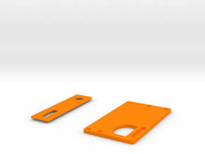 Covers for Boxmod bottomfeeder ONE in Orange Strong & Flexible Polished