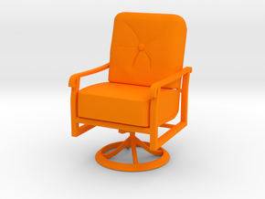 Mini Chair in Orange Strong & Flexible Polished