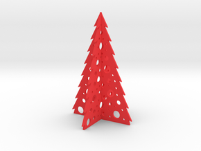 Christmas Tree in Red Strong & Flexible Polished