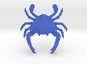 Crab Pen Holder in Blue Strong & Flexible Polished