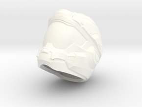 H5 Air Assault 1/6 scale helmet in White Strong & Flexible Polished