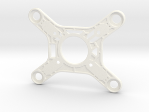 Phantom 3 Upgraded Gimbal Mount in White Strong & Flexible Polished
