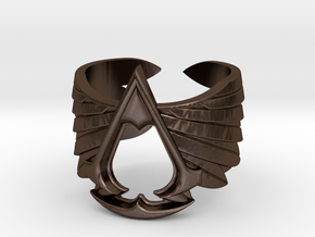 AC ring Master Custom - old version in Polished Bronze Steel