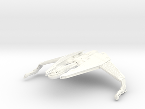 Fire Class Bird Of Prey HvyEscort in White Strong & Flexible Polished