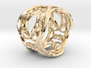 Ring Elegance - for royalty in 14K Gold