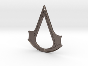 Assassin's creed logo-bottle opener (with hole) in Stainless Steel