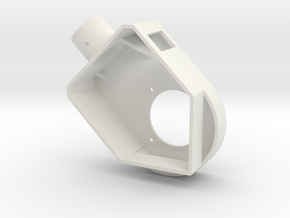 JoystickEnclosure in White Strong & Flexible