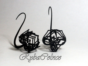 Plugs / gauges / size 10 g (2.5mm) in Black Strong & Flexible