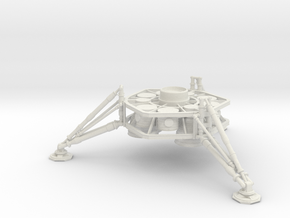 1/144 NASA/JPL ARES MARS DESCENT STAGE in White Strong & Flexible