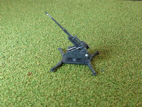 German 12,8 cm Flak 40 1/285 in Frosted Ultra Detail