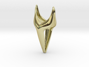 SMOOTH FOX Pendant in 18k Gold Plated