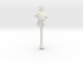 sm wands pluto: 1/6 scale for dolls in White Strong & Flexible