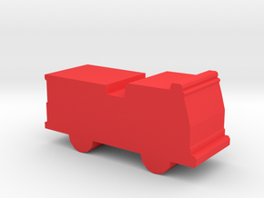 Game Piece, Fire Engine in Red Strong & Flexible Polished