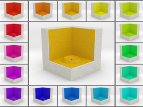 LuminOrb 2.4 - Cube Stand in Full Color Sandstone