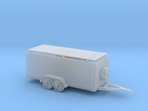 Enclosed Trailer Box 1-87 HO Scale in Frosted Ultra Detail