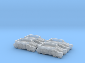 Light Assault Walker Transport Truck Platoon 6mm E in Frosted Ultra Detail