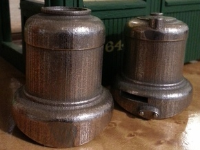 SE scale Domes with Sloted Sand dome in Stainless Steel