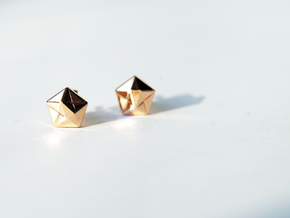 Star Earings in 14k Gold Plated
