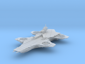 Hellicarrier - 75mm [Solid] in Frosted Extreme Detail