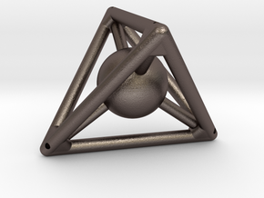 Small Tetra with Sphere (small reinf.) in Stainless Steel